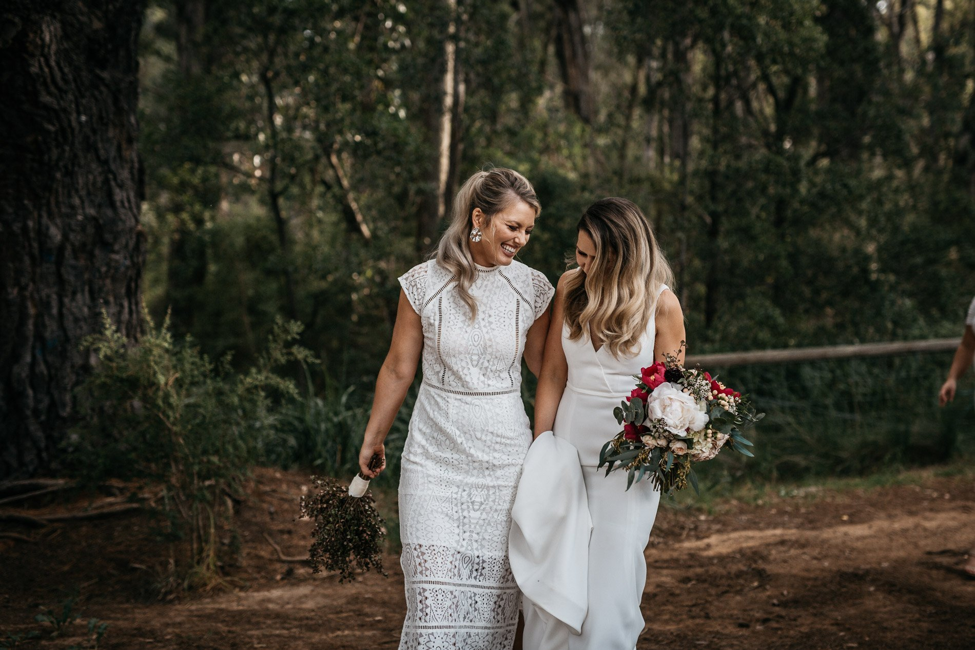 Red hill wedding epicurean fern and stone photography bridesmaides